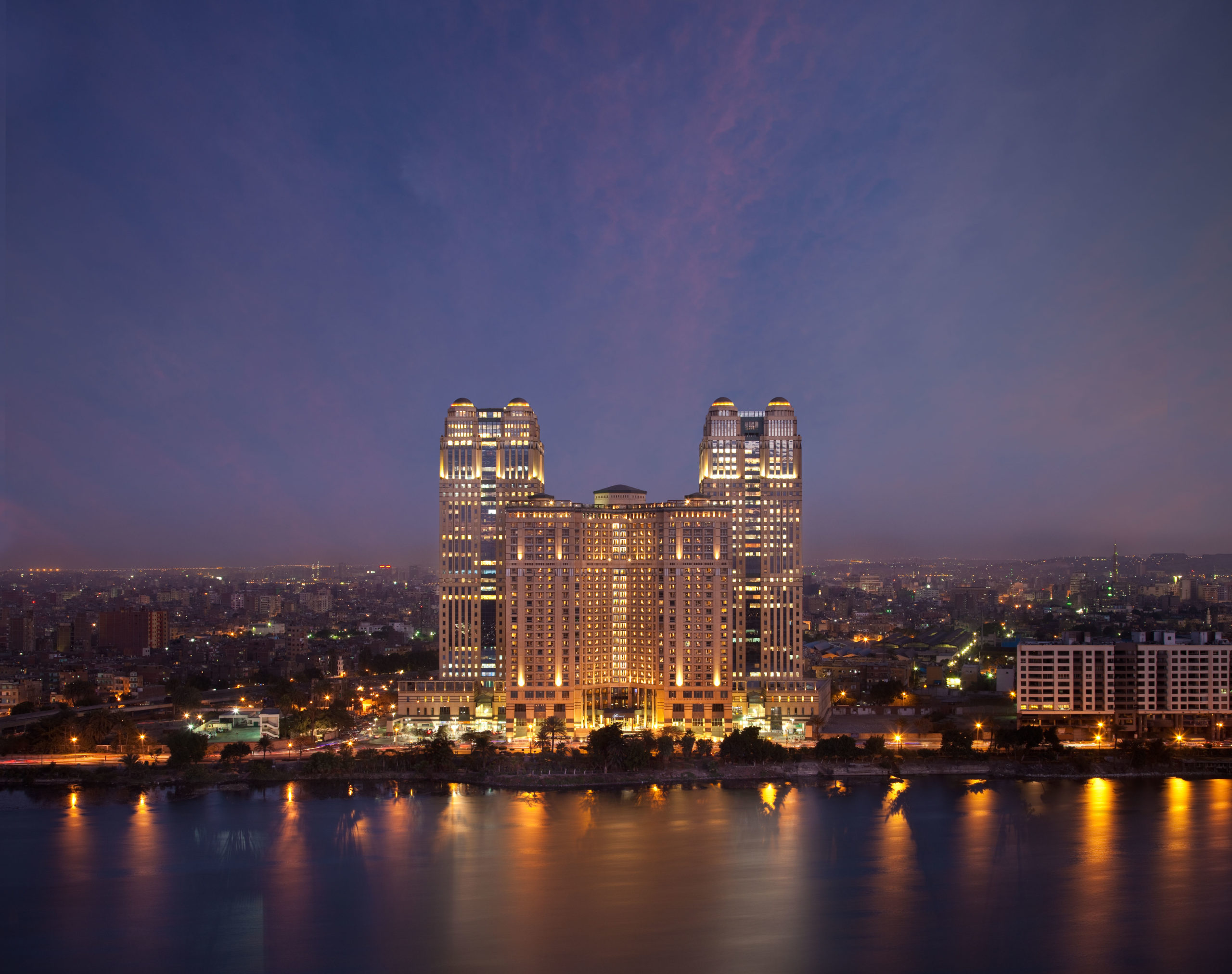 Fairmont Nile City Cairo