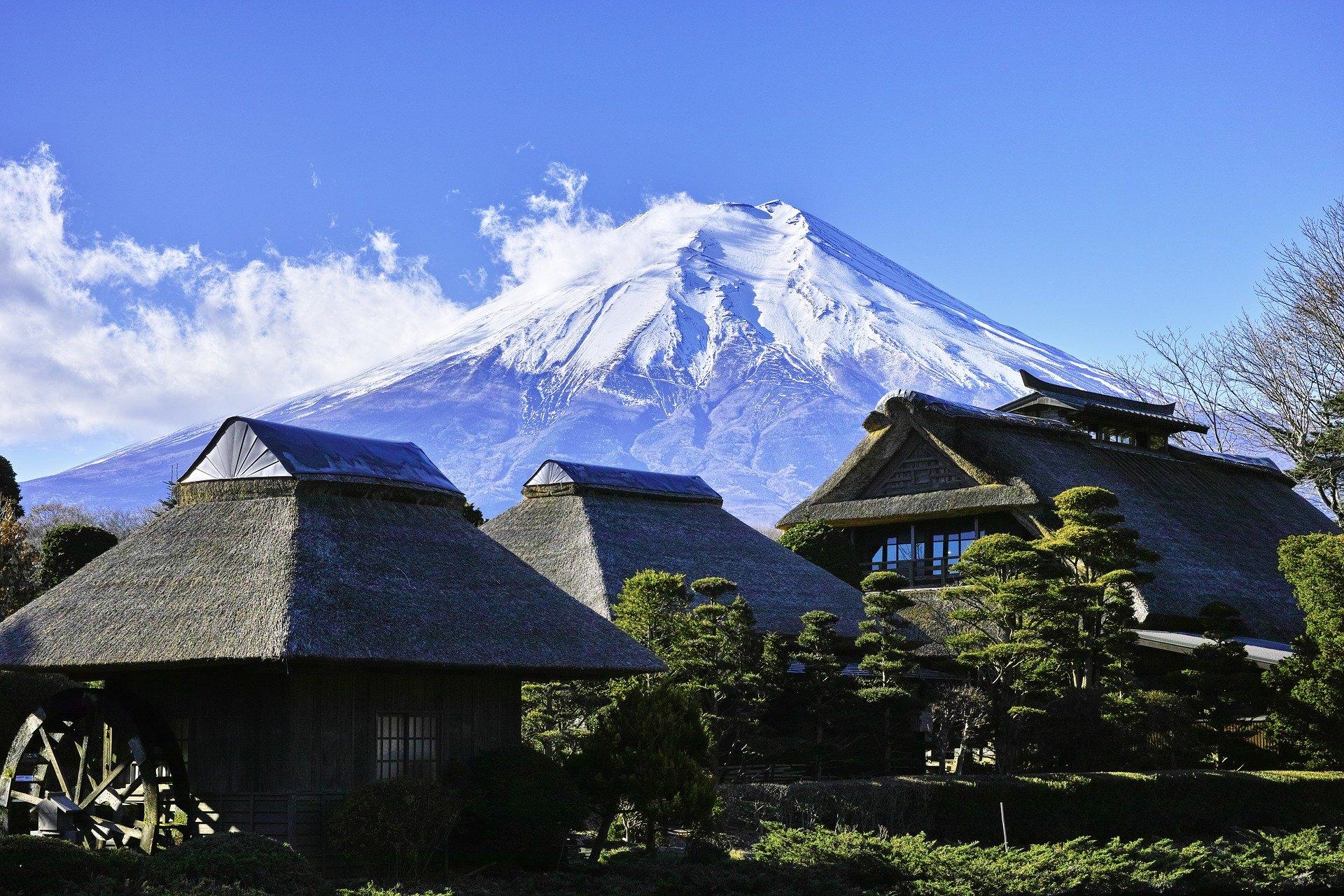 La cara oculta del Monte Fuji