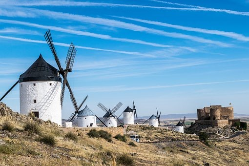 Excursion a la tierra de Don Quijote / Campo de Ccriptana